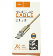 Магнитный Кабель Hoco U16 Magnetic Data Cable Usb-Lightning