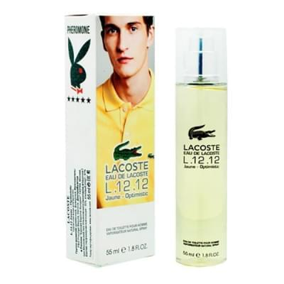 Lacoste 12.12 Jaune Optimistic edt 55 ml с феромонами