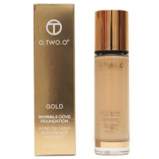 Тональный крем O.TWO.O Gold Invisible Cove Foundation Fond de Teint Couvrance Invisble 30 мл