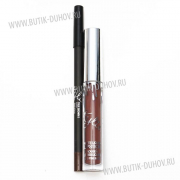 Kylie Holiday Edition Жидкая помада + карандаш для губ True Brown K
